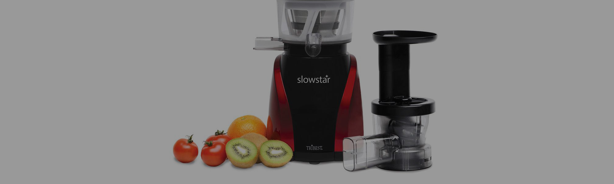 Tribest SW-2000-B Vertical<br>Slow Cold Press Juicer